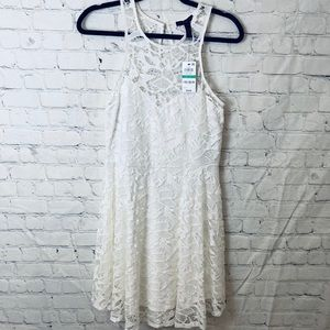 Material girl white lace dress